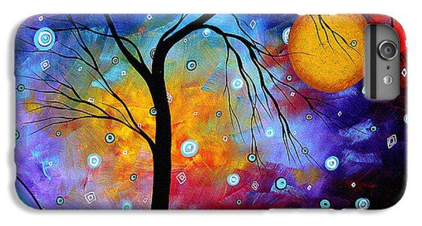 Winter Sparkle Original Madart Painting IPhone 6 Plus Case