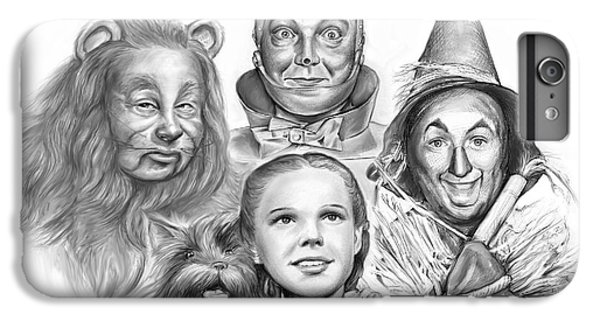 Wizard iPhone 6 Plus Case - Wizard Of Oz by Greg Joens