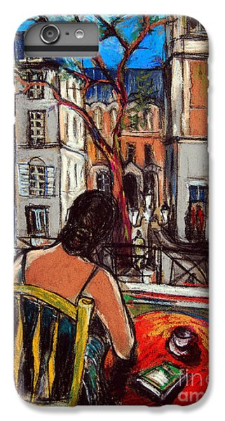 Woman At Window IPhone 6 Plus Case