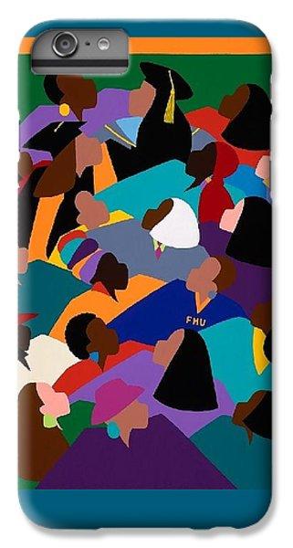 iPhone 6 Plus Case - Women Lifting Their Voices by Synthia SAINT JAMES