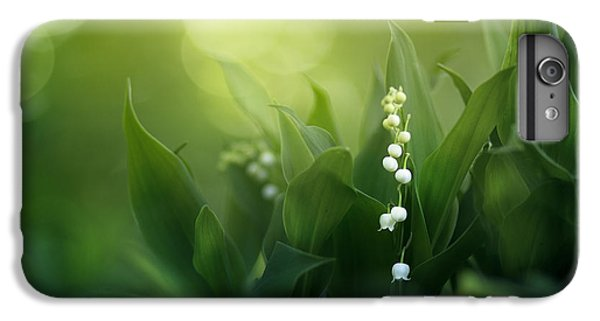 Lily iPhone 6 Plus Case - Wonders Of Spring Forest by Magda  Bognar