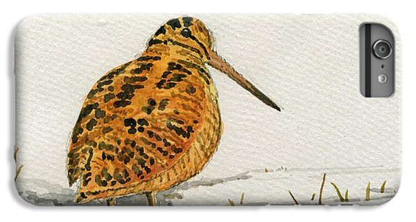 Woodcock Bird IPhone 6 Plus Case