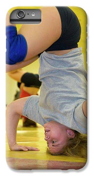 Marquette iPhone 6 Plus Case - Wrestler Training by Jim West