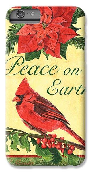 Cardinal iPhone 6 Plus Case - Xmas Around The World 1 by Debbie DeWitt