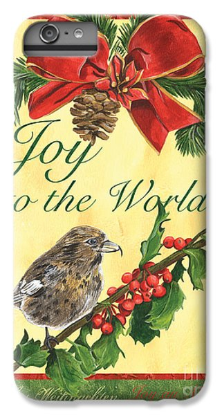 Titmouse iPhone 6 Plus Case - Xmas Around The World 2 by Debbie DeWitt