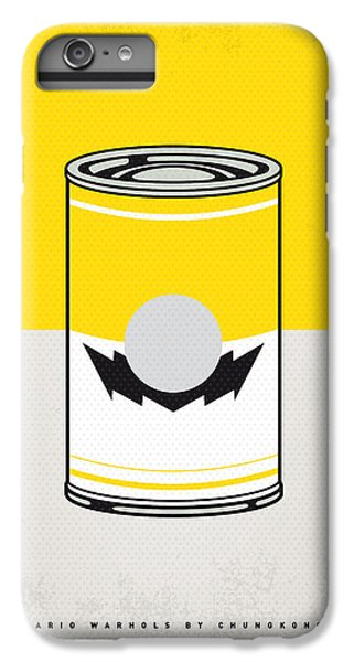 Vegetables iPhone 6 Plus Case - Y Mario Warhols Minimal Can Poster-wario by Chungkong Art