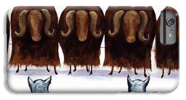 Yak Line IPhone 6 Plus Case by Christy Beckwith