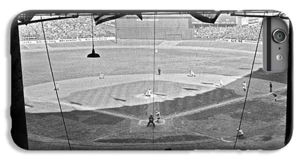 Yankee Stadium Grandstand View IPhone 6 Plus Case by Underwood Archives