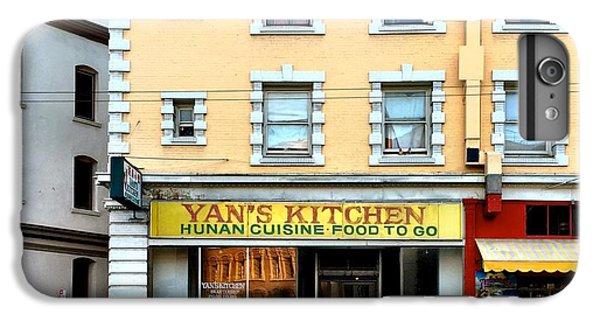 Architecture iPhone 6 Plus Case - Yan's Kitchen by Julie Gebhardt