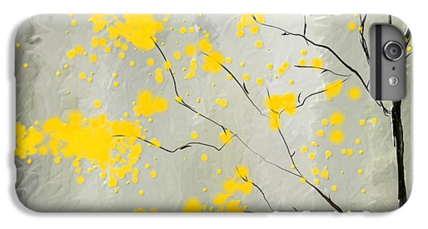 Yellow Foliage Impressionist IPhone 6 Plus Case