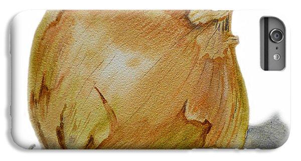 Yellow Onion IPhone 6 Plus Case by Irina Sztukowski