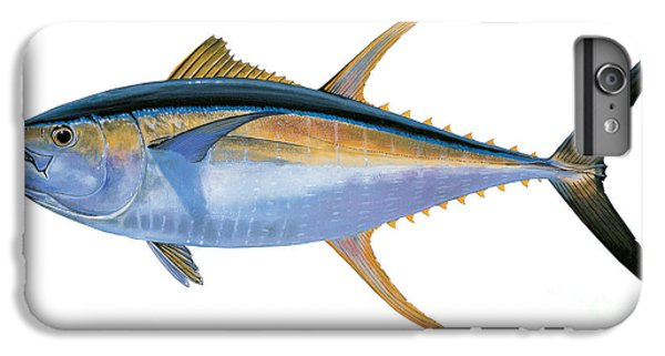 Yellowfin Tuna IPhone 6 Plus Case by Carey Chen