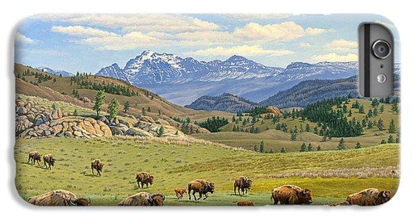Buffalo iPhone 6 Plus Case - Yellowstone Spring by Paul Krapf
