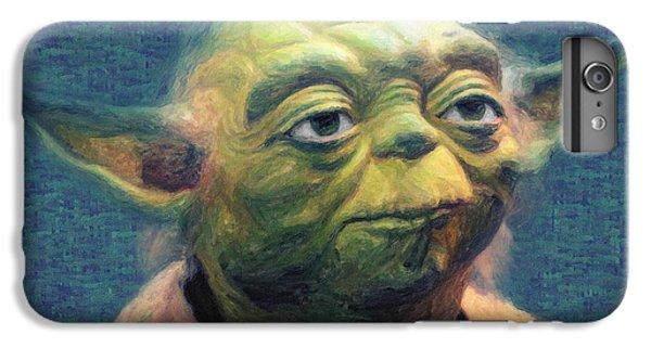 Han Solo iPhone 6 Plus Case - Yoda by Zapista Zapista