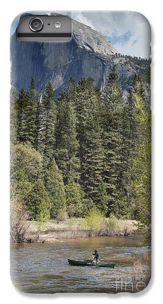 Yosemite National Park. Half Dome IPhone 6 Plus Case by Juli Scalzi