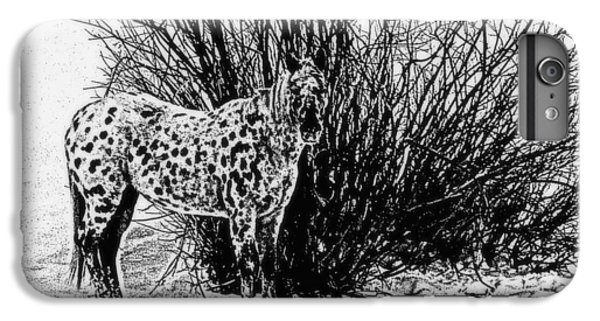 You Can't See Me IPhone 6 Plus Case by Karen Shackles