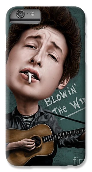 Young Bob Dylan IPhone 6 Plus Case by Andre Koekemoer