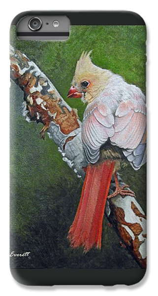 Young Cardinal  IPhone 6 Plus Case by Ken Everett