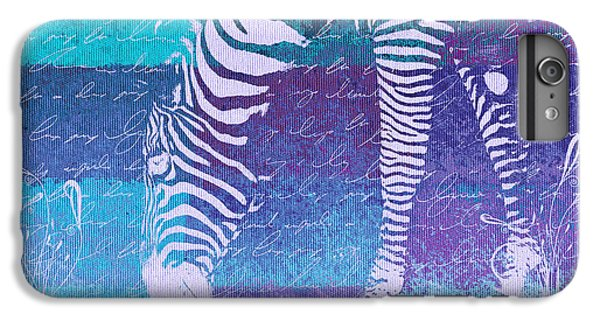 Zebra Art - Bp02t01 IPhone 6 Plus Case by Variance Collections