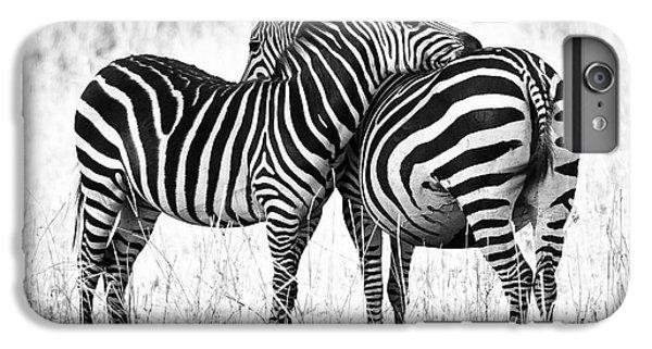 Africa iPhone 6 Plus Case - Zebra Love by Adam Romanowicz