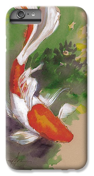 Zen Comet Goldfish IPhone 6 Plus Case