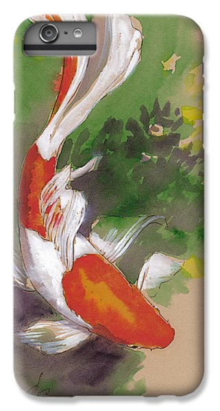 Zen Comet Goldfish IPhone 6 Plus Case by Tracie Thompson