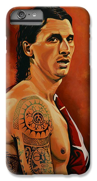 Zlatan Ibrahimovic Painting IPhone 6 Plus Case