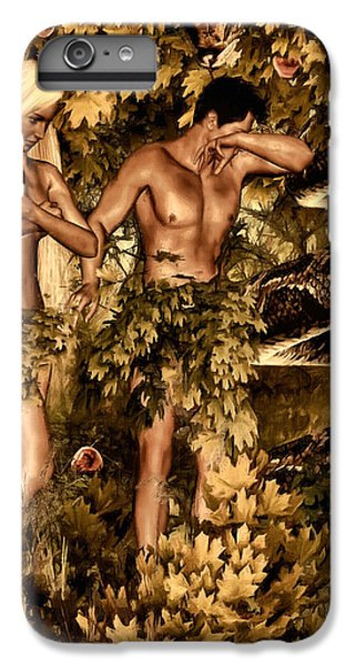 Birth Of Sin IPhone 6 Plus Case by Lourry Legarde