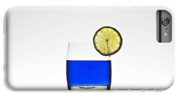 Blue Cocktail With Lemon IPhone 6 Plus Case