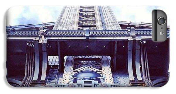 Architecture iPhone 6 Plus Case - Manhattan Bridge by Randy Lemoine