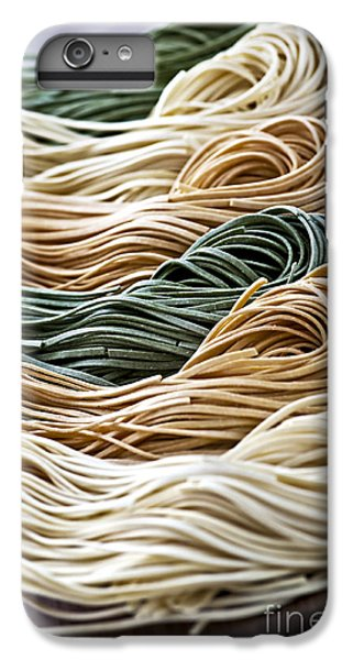 Tagliolini Pasta IPhone 6 Plus Case by Elena Elisseeva