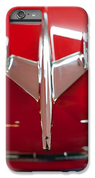 1955 Chevy Belair Hood Ornament IPhone 6 Plus Case by Sebastian Musial