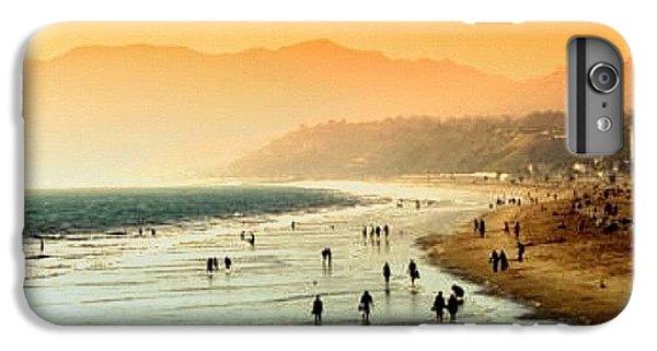 Santa Monica Beach IPhone 6 Plus Case