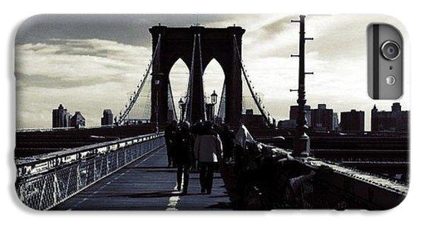 City iPhone 6 Plus Case - Afternoon On The Brooklyn Bridge by Luke Kingma