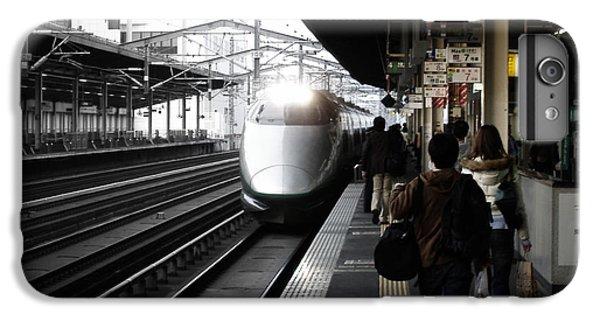 Train iPhone 6 Plus Case - Arriving Train by Naxart Studio