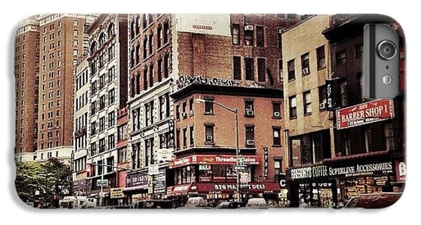As The Rain Falls - New York City IPhone 6 Plus Case