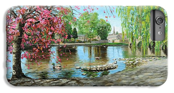 Bakewell Bridge - Derbyshire IPhone 6 Plus Case by Trevor Neal