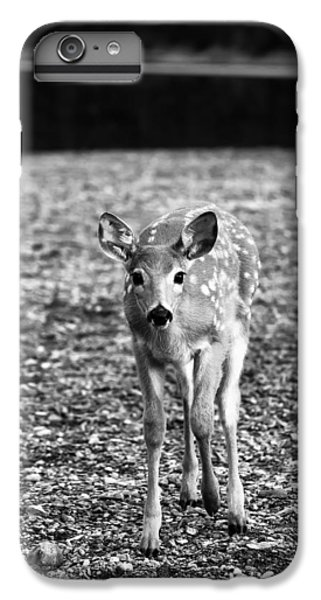 Bambi In Black And White IPhone 6 Plus Case by Sebastian Musial