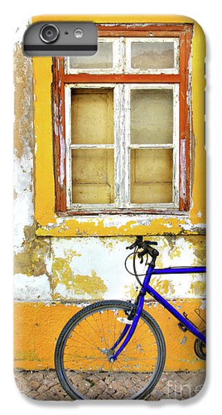 Bicycle iPhone 6 Plus Case - Bike Window by Carlos Caetano