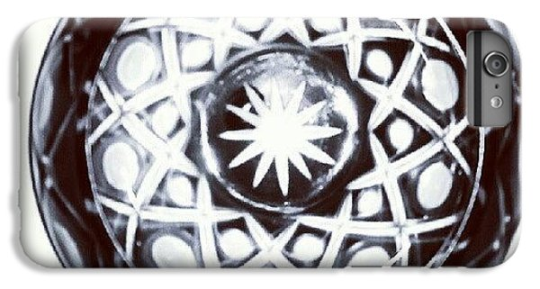 Black And White Glass Bowl. #glass IPhone 6 Plus Case