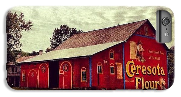 Buy Flour. #barn #pa #pennsylvania IPhone 6 Plus Case
