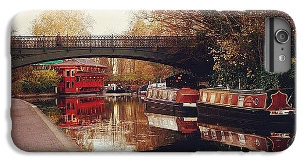 London iPhone 6 Plus Case - #camden #camdencanal #camdentown by Ozan Goren