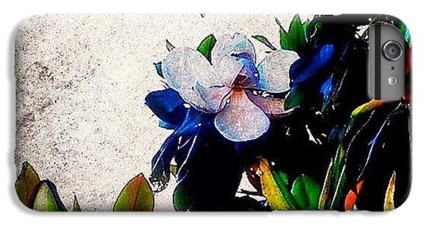 Edit iPhone 6 Plus Case - Canvas Magnolia by Mari Posa