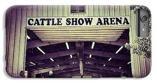 Ohio iPhone 6 Plus Case - Cattle Show Arena by Natasha Marco