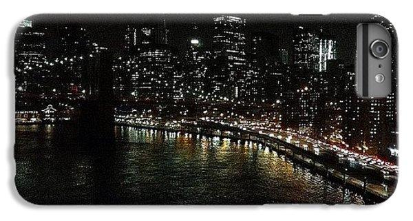 Light iPhone 6 Plus Case - City Lights - New York by Joel Lopez