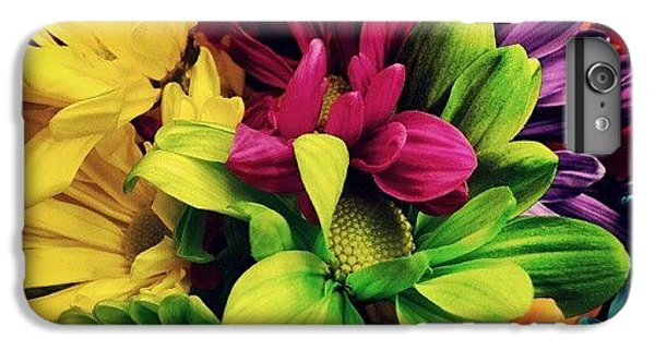 Colorful iPhone 6 Plus Case - #colorful #flowers by Mandy Shupp