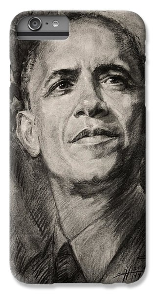 Barack Obama iPhone 6 Plus Case - Commander-in-chief by Ylli Haruni