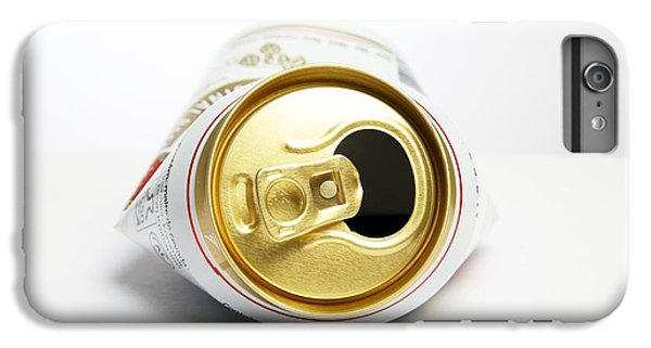 Crushed Beer Can IPhone 6 Plus Case by Victor De Schwanberg