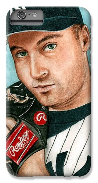 Derek Jeter  IPhone 6 Plus Case by Bruce Lennon