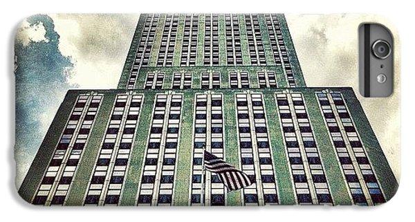 City iPhone 6 Plus Case - Empire State by Luke Kingma
